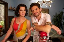 Gabriele Corcos & Debi Mazar