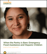 When the Pantry is Bare: Hispanics and poverty in America