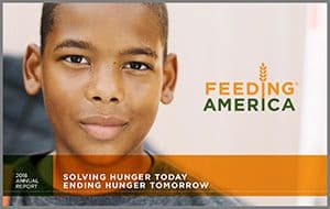 2018 Annual Report: Solving Hunger Today, Ending Hunger Tomorrow