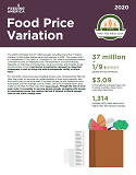 Map the Meal Gap Food Price Variation Cover