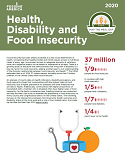 Map the Meal Gap Health, Disability and Food Insecurity Cover