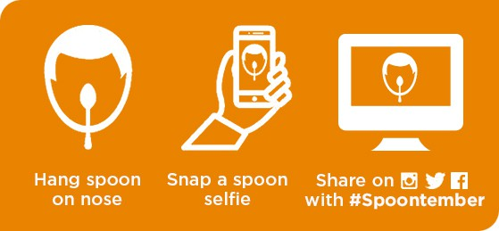 How to make a spoon selfie for Spoontember
