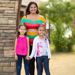 Priscilla and family