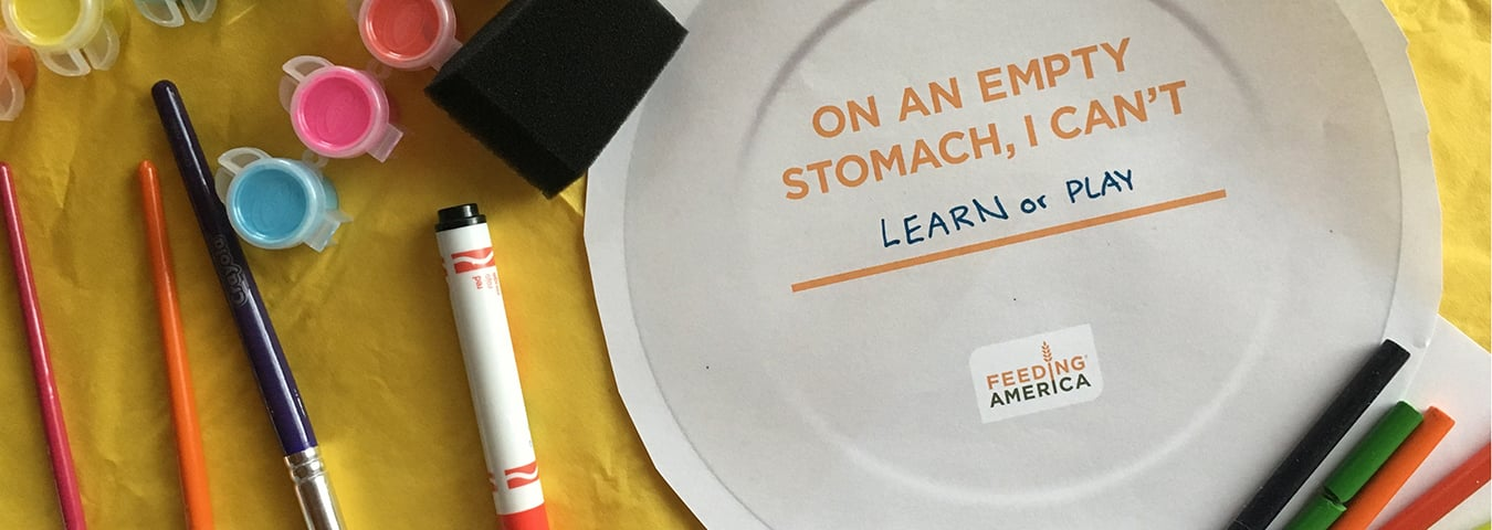 Hunger Action Month: Empty Plate