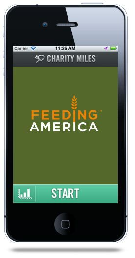 Download the app to your phone to help hungry Americans.