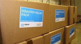 Disaster Boxes from Abbott