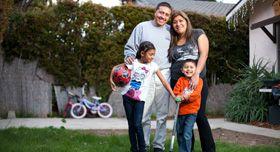 Daniel and Maricruz's family