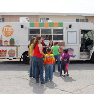Community Food Bank of Eastern Oklahoma's food truck.