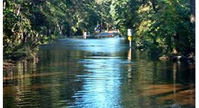 Flooding from Hurricane Matthew