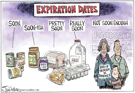 Cartoon by Joe Heller