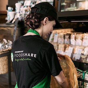 Starbucks food case