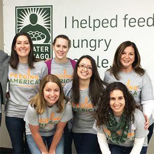 Feeding America Major Gifts Team Volunteers