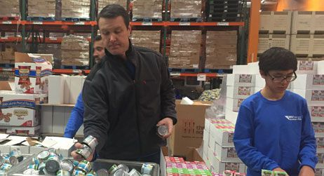 Volunteers from across the country give back to their local food bank on MLK Jr. Day