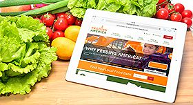 Check out our new website at feedingamerica.org!