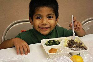 Kids cafe service hot meals in Phoenix