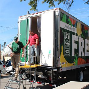 Greater Chicago Food Depository Producemobile