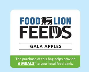Food Lion Apple Bag