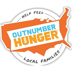 Outnumber Hunger logo