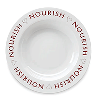 Round Up From the Heart, Nourish Plate from The Pampered Chef
