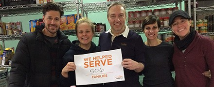 Volunteer at Food Banks