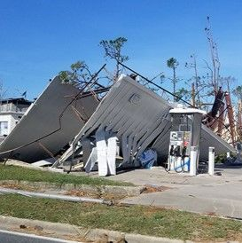 business destroyed by hurricane michael