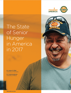 State of Senior Hunger 2017 Report Cover