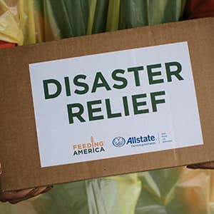Feeding America serves communities affected by disasters