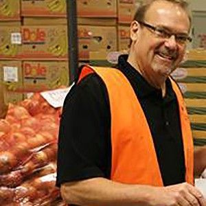 Dave - Volunteer at Gleaners Community Food Bank