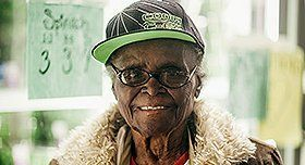 Jestine - A 92 year old food bank volunteer