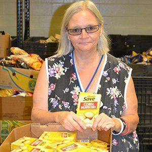Marilee - Volunteer at Treasure Coast Food Bank