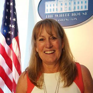 Karen Hanner at the White House food waste event