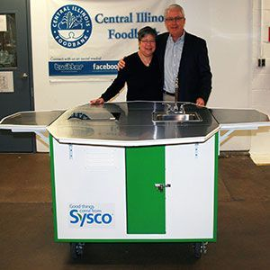 SYSCO Kitchen Cart
