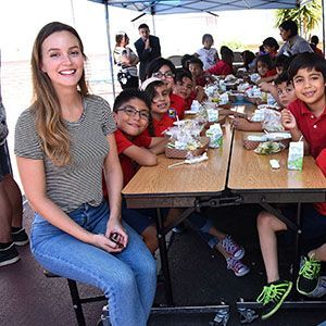 Leighton Meester and children