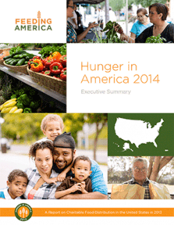 Hunger in America 2014 Executive Summary Report Cover