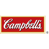 Campbell's logo on red background