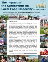 Cover of The Local Impact of Coronavirus on Food Insecurity - revised March 2021 Report