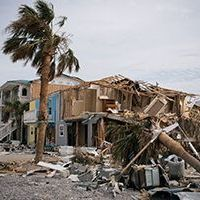 Hurricane Michael caused severe destruction in Floria